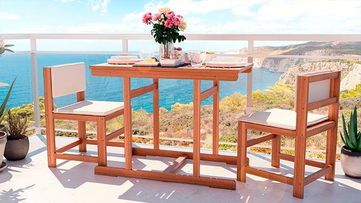 McNulty - Zestaw balkonowy