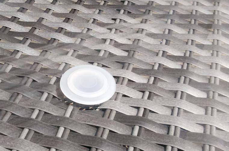 Zaślepka na otwór od parasola ogrodowego - Osłona na stół
